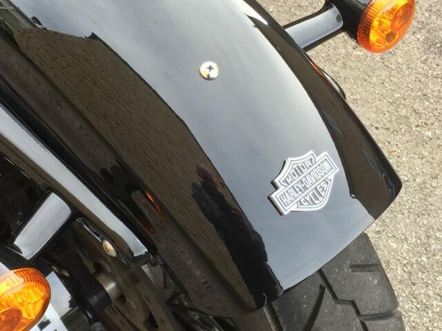Insignia Emblema De Metal Guardabarros trasero para Harley Davidson Sportster 48 Iron 883 1200 XL