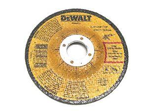 "DEWALT DWA4511 4-1//2/"" X 1//8/"" X  7//8/"" Metal Grinding Wheel"