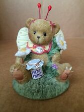"Cherish Teddies ""you're The Sweetest Thing To Ever Flutter Figurine."