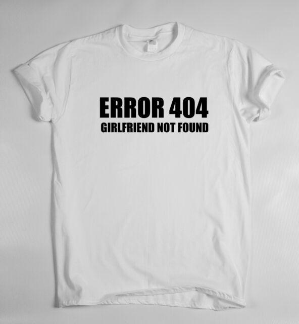 ERROR 404 - t shirt tee Dope Hipster Indie Swag Tumblr Geek Funny humor rude