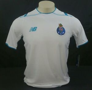 94f298698 Image is loading New-Balance-FC-Porto-Third-Jersey-White-Blue-