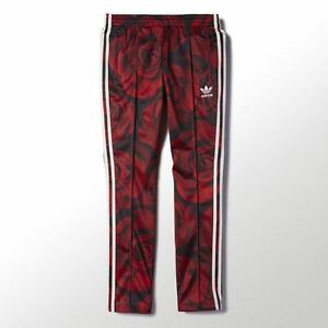 acf285a74ef4 Adidas Originals Women s Red Clash Track Pants Size XS FREE SHIPPING ...