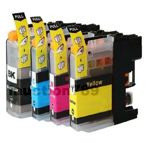 4x Ink Cartridge For LC133 LC131 Brother DCPJ172W DCPJ752DW MFCJ650DW MFCJ475DW