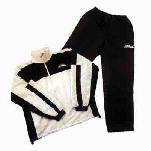 Microfibre Présentation Costume Survêtement, blanc/noir, diverses tailles