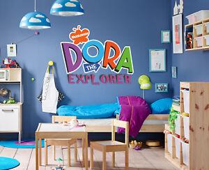 Casa, jardín y bricolaje Dora la Exploradora arte de Pared o Puerta ...