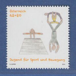 Osterreich-2014-Sondermarke-Jugend-fuer-Sport-und-Bewegung-Mi-Nr-3147