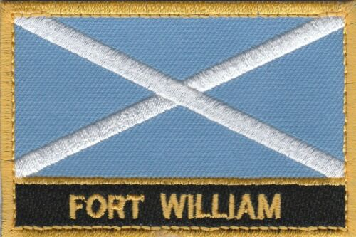 Fort William Scotland Town /& City Embroidered Sew on Patch Badge