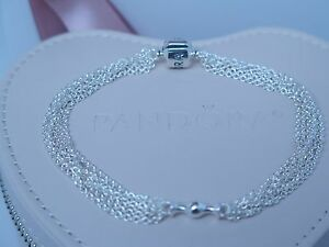 Image is loading NEW-W-Hinged-Box-Pandora-Multi-Strand-One-