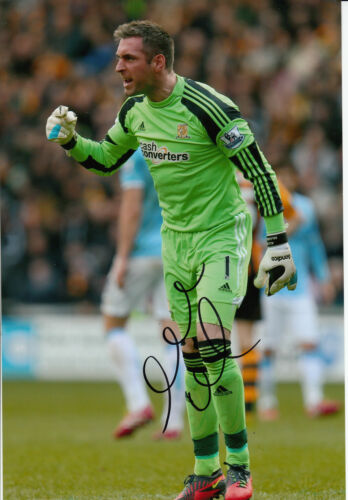 Hull City Hand Signed Allan McGregor 12x8 Photo 3.