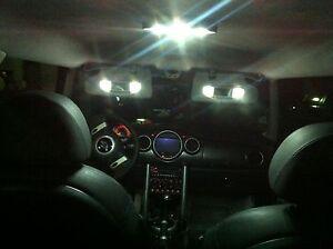 Pack Ampoule Full LED Intérieur/Extérieur pour MINI COOPER R50 R53