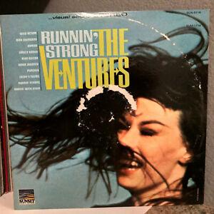 "THE VENTURES - Runnin' Strong (Sunset SUS 5116) - 12"" Vinyl Record LP - EX"