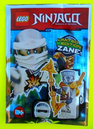 Lego Ninjago Nindroid Zane mit Maske Meister des Eises Limited Edition Polybag