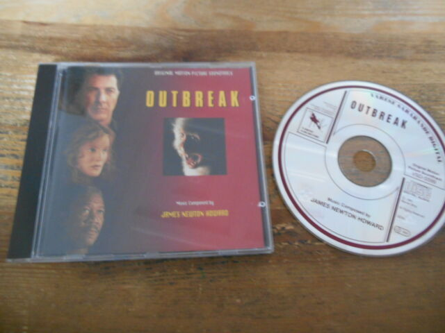 CD OST James Newton Howard - Outbreak (12 Song) VARESE SARABANDE jc