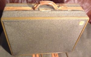 Vintage Luggage Hartmann Tweed Leather 25