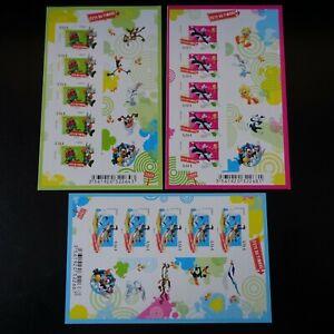 France-Stamp-Sticker-Celebration-Stamp-2009-N-271-273-Neuf-Mnh