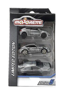 Set 1-3 Fahrzeuge Majorette 212054019 Limited Series 5 Neu