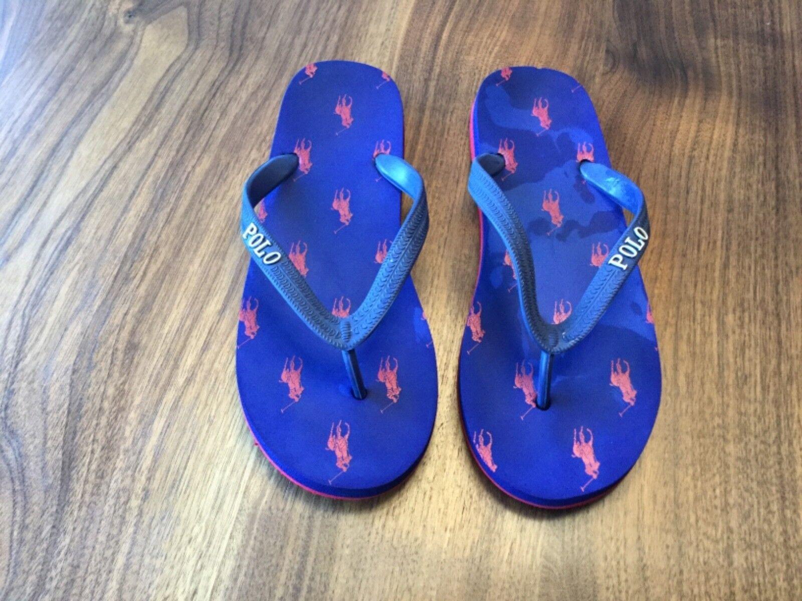 Ralph Lauren Polo Flip Nice Flops. Size US 6/7. Nice Flip condition. Designer. 026659
