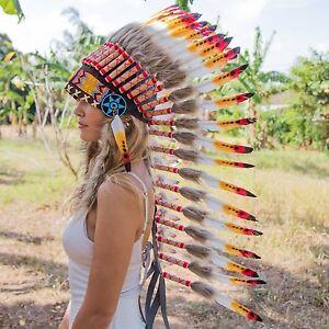 Indian Chief Headdress War Bonnet Instructions