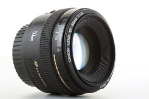 Objetivo Canon EF 50mm 1:1,4 USM pour EOS: 750D 70D 7D 5D 1d (1.4) Garantizado