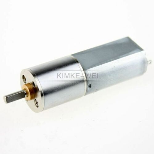 12V 30RPM Torque Gear Box Motor New