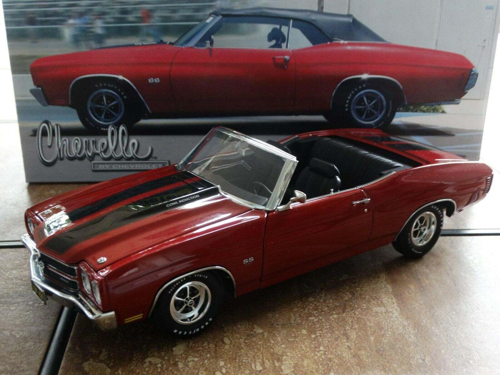 Lane Exact Detail 1970 Chevy Chevelle SS 454 LS6 ConGrünible 1 18 Diecast Car