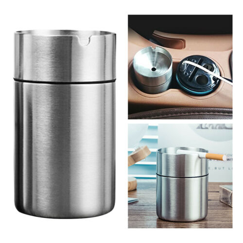 Details about  /Ceeative Car Home Ashtray Large /& Small Capacity Ash Container Car Mounting