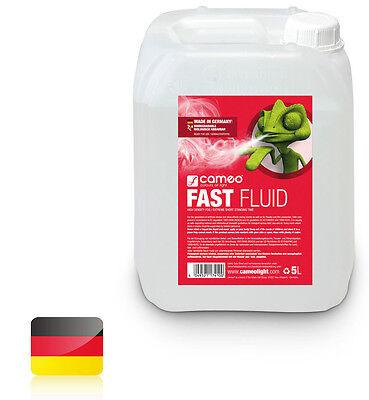 Cameo FAST FLUID 5L - Nebelfluid mit sehr hoher Dichte und sehr kurzer Standzeit