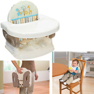 Details about High Chair Booster Seat For Toddlers Infant Portable Space  Saver Baby Traveling
