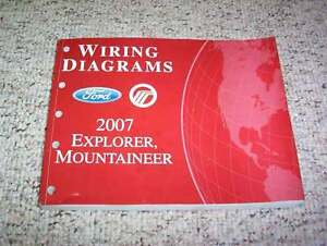 2007 Ford Explorer Electrical Wiring Diagram Manual XLT ...