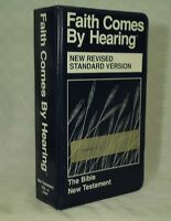 Bible New Testament 12  Cassette tape set Faith Comes by Hearing