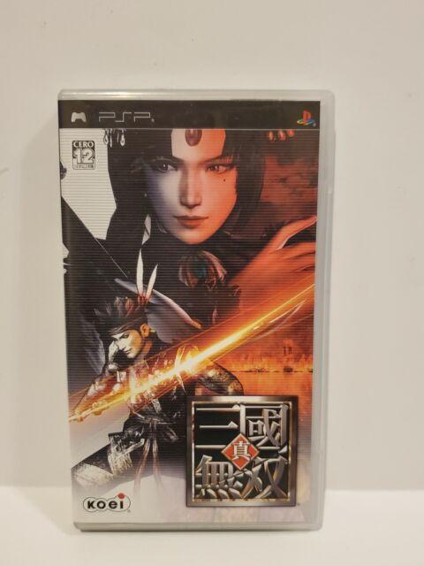 Shin Sangoku Musou Game for PSP - Japanese Version - w/ Original Case & Manual