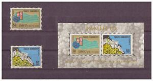 Turquie-2-Nationale-Exposition-Philatelique-Minr-2067-2068-Bloc-13-1967