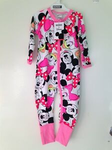 NWT-BONDS-Zippy-Zip-Wondersuit-Disney-Edition-034-Minnie-amp-Friends-034-Size-2-E28