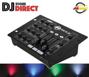 American Dj Adj Rgb 3c Ir 3 Channel Dmx Led Lighting