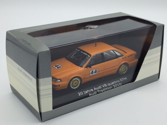 Audi V8 Quattro 20 Jahre DTM 2010 Minichamps Audi Collection 1 43