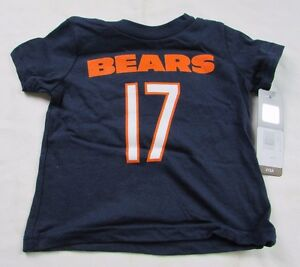 Chicago-Bears-Infant-12-Months-and-24-Months-S-S-T-Shirt-17-Jeffrey-NFL-A6