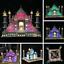 Advanced Version LED Light Kit for LEGO Taj Mahal Model 10189 and 10256 Building