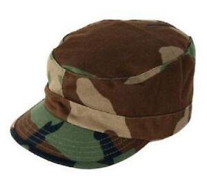 Propper Army Patrol Gi Bdu Us Woodland Camouflage Casquette Cap Tarmnütze Large-afficher Le Titre D'origine