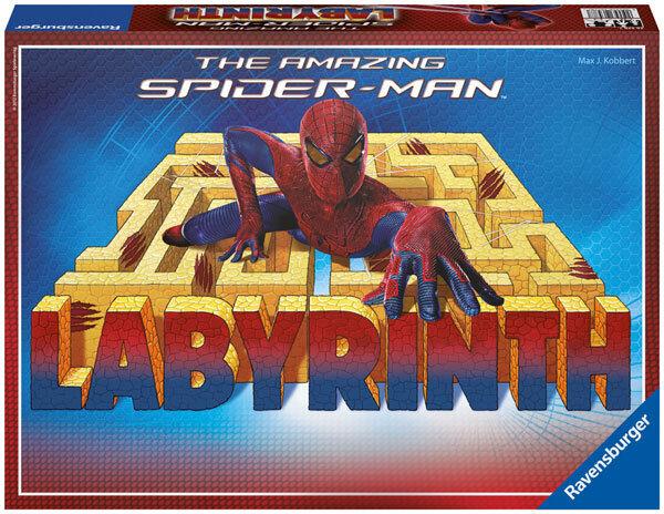Ravensburger The amazing Spider Man Labyrinthe jeu Coulissantes jeu jeu d'enfant