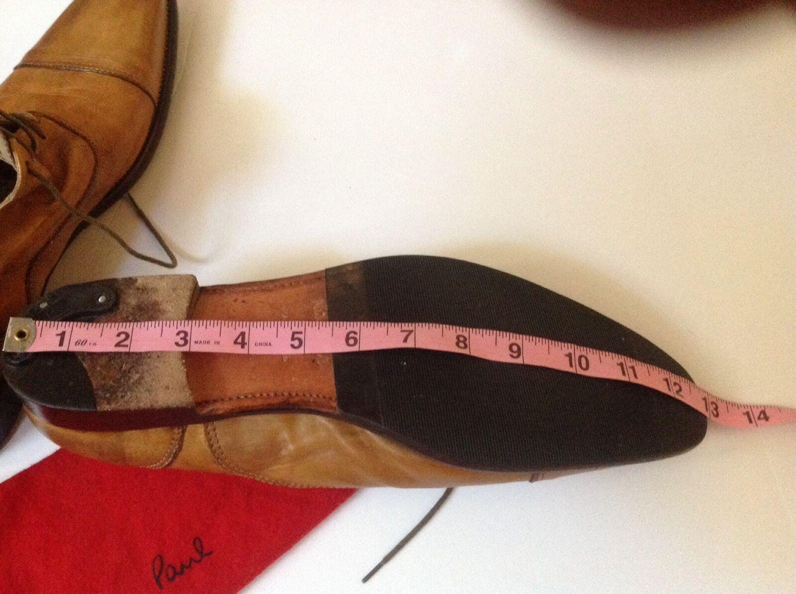 Paul Smith - PAIR OF TAN TAN TAN HANDCRAFTED CAPTOE schuhe - Größe 10UK 44 EURO a60ebb