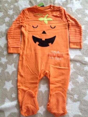 Baby Halloween Babygrow One Piece Combinaison Tout en un à manches longues 9-12 mois
