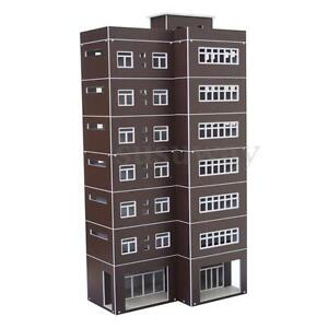 Outland-Models-Train-Railway-Modern-Tall-Business-Building-Office-HO-OO-Gauge