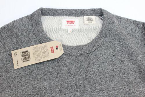$69.95 New Levi/'s GRAY Raglan L//S Sweatshirt  A4