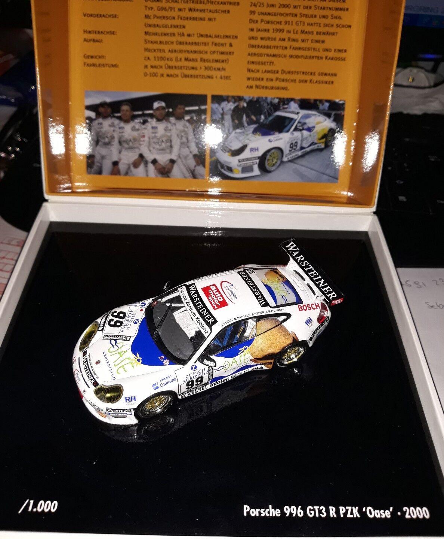 Minichamps 1 43 Porsche 996 GT3 R R R h Nurburgring 2000 Oase 9e0de2