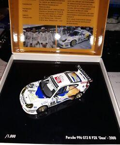 Minichamps 1/43 Porsche 996 Gt3 R # 99 24h Nurburgring 2000 Oase