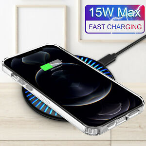 15W-Qi-Wireless-Charger-Mat-Charging-Pad-Dock-For-iPhone-12-Pro-Max-QC-3Adapter