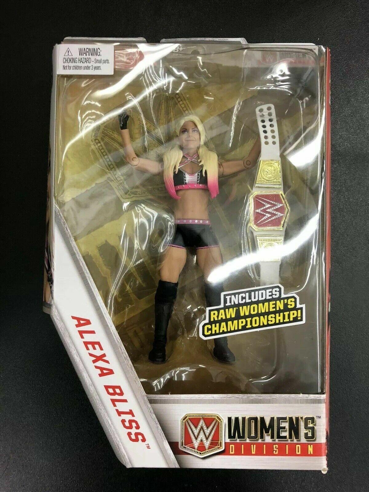 WWE Elite Collection EXCLUSIVE ALEXA BLISS FIGURE NIP NIP NIP WRESTLEMANIA 173f24