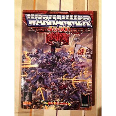 Warhammer 40,000 Original Rogue Trader Regelbuch Rarität!