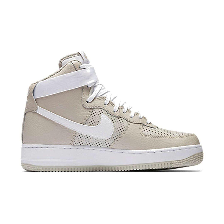 adc53eef1aa50 Nike Mens Air Force 1 Basketball Shoe Shoe Shoe Pale Grey White 11 D(M) US  21a21e