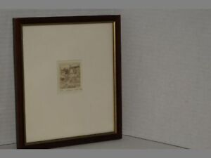 Susan-Hunt-Wulkowicz-034-The-Good-Land-034-Sepia-Etching-Print-101-200-Pencil-Signed